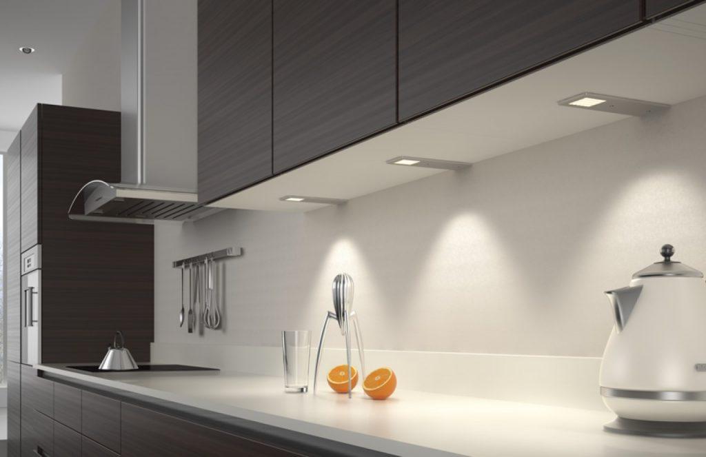 Luces led para cocina iluminacin empotrada y de brazo - Luces led cocina ...